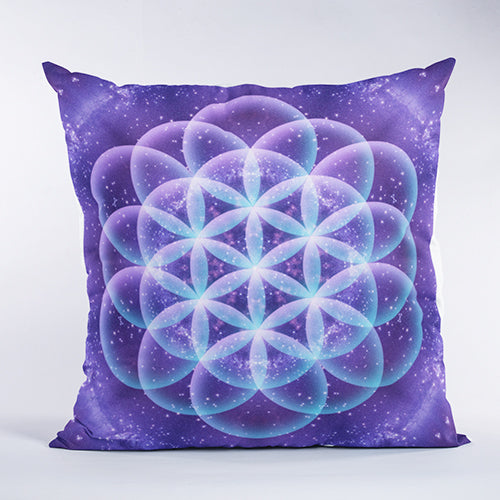 Flower of Life Sacred Geometry Pillow