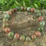 Power Bracelet - Green Jasper