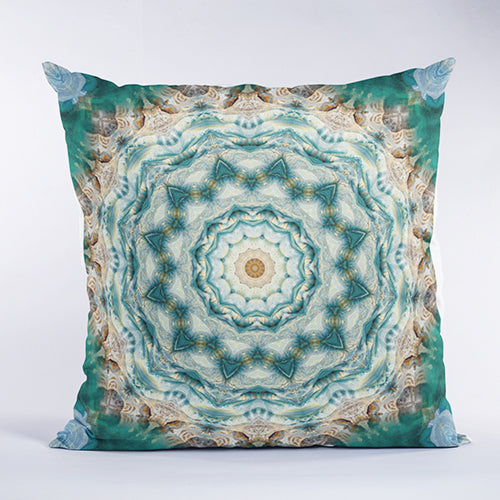 Heart of the Mountain Sacred Geometry Pillow