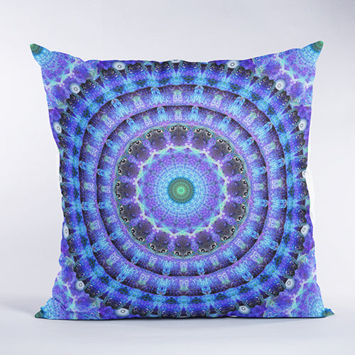 Radiant Core Geometry Pillow