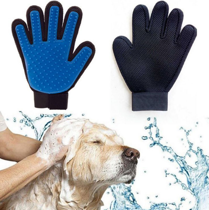 Pet Glove Brush - Remove Dog Fur Pet Fur Easily