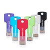 Metal Key 128GB usb flash drive
