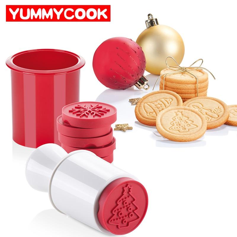 Magical Christmas Cookie Stamps