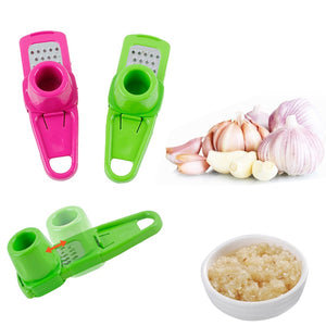 Delidge Candy Color Kitchen Accessories Plastic Ginger Garlic Grinding Tool Magic Silicone Peeler Slicer Cutter Grater Planer