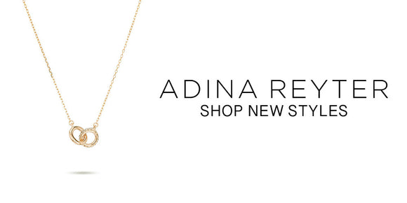 Adina Reyter - 14k Gold with Diamond Accents - Made in California
