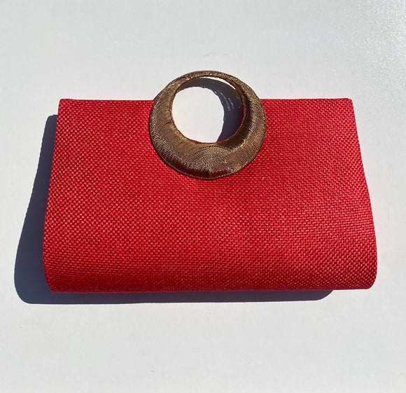Samser Causeway Brass Handle in Red