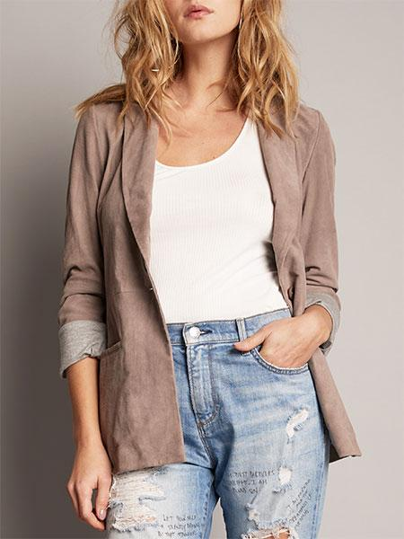 AS by DF It Girl Suede Blazer