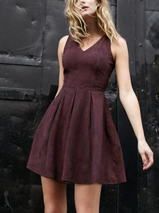 AS by DF Kathryn Suede Dress