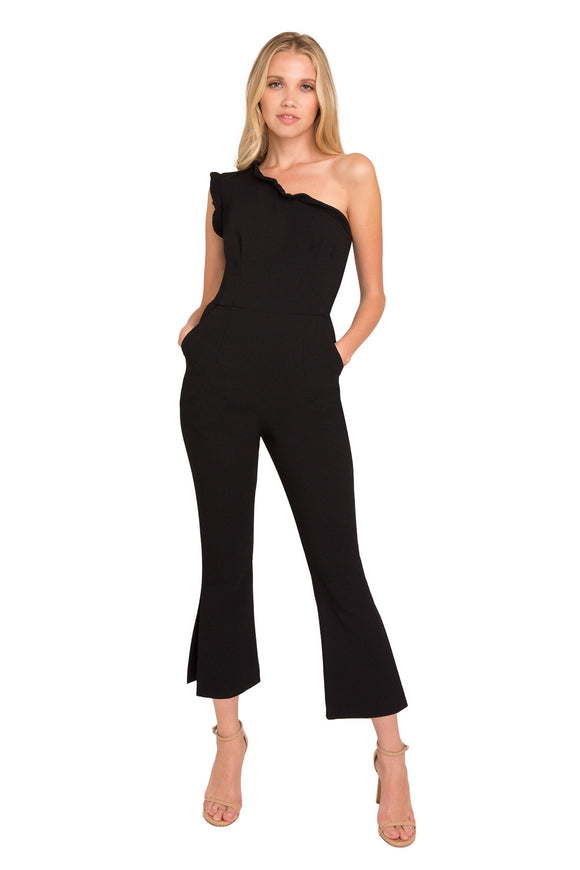 Black Halo Pravella Jumpsuit Black