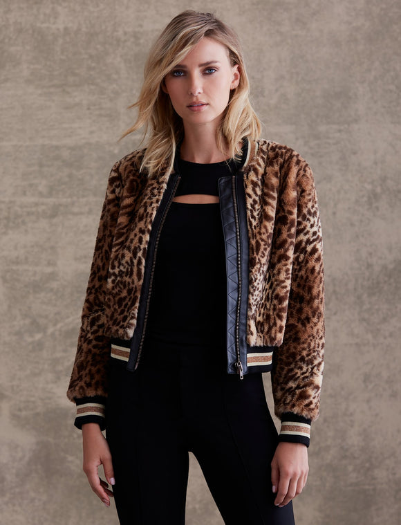 Bailey 44 Eliza Faux Fur Bomber Jacket