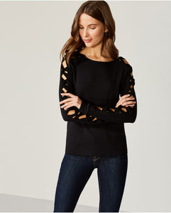 Bailey 44 Snorgy Black Sweater