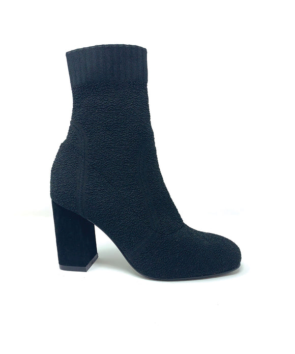 Bibi Lou Textured Knit Ankle Boot