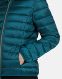 Save the Duck Women's Iris Hooded Faux Down Jacket