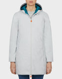 Save the Duck Wonen's Maty Hooded Jacket Frozen Grey