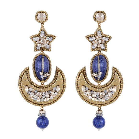 Deepa Gurnani Keyla Beaded Vegan Earrings