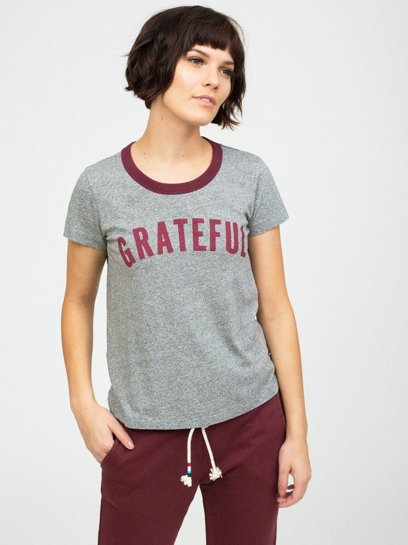 Sol Angeles Grateful Ringer Tee
