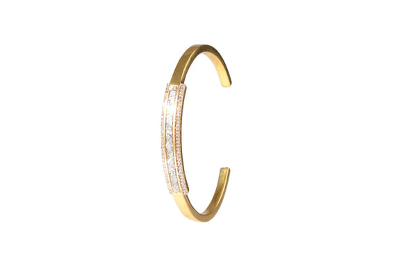 Shana Gulati Hapur 18K Gold Diamond Bangle