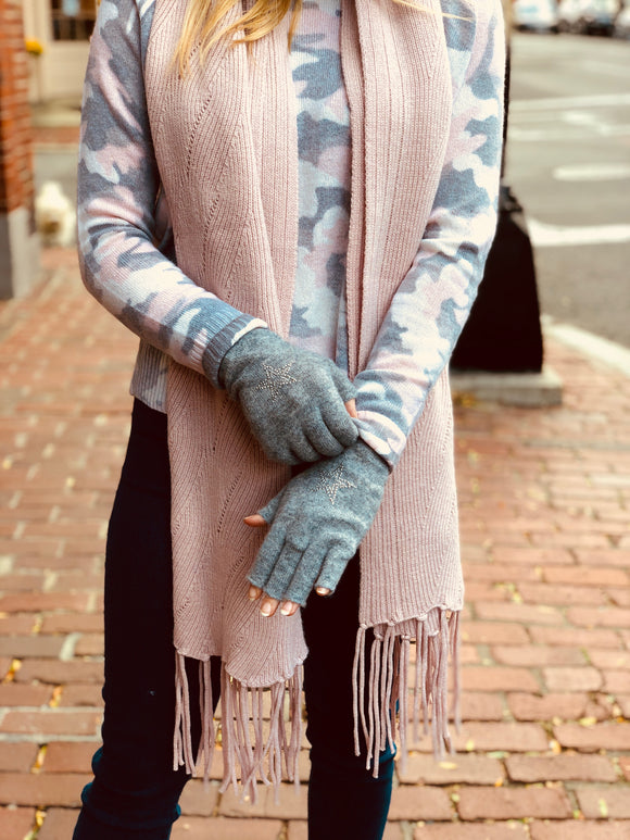 27 Miles Lindi 100% Cashmere Scarf