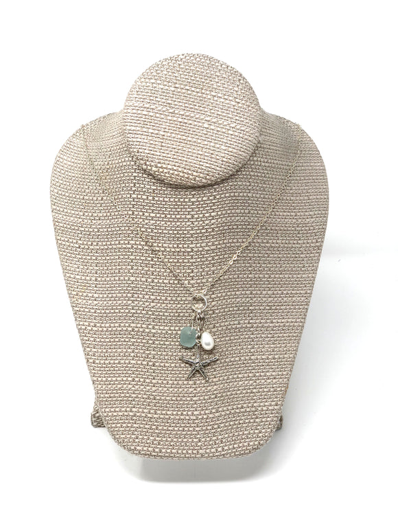 Coastal Charms Starfish Necklace