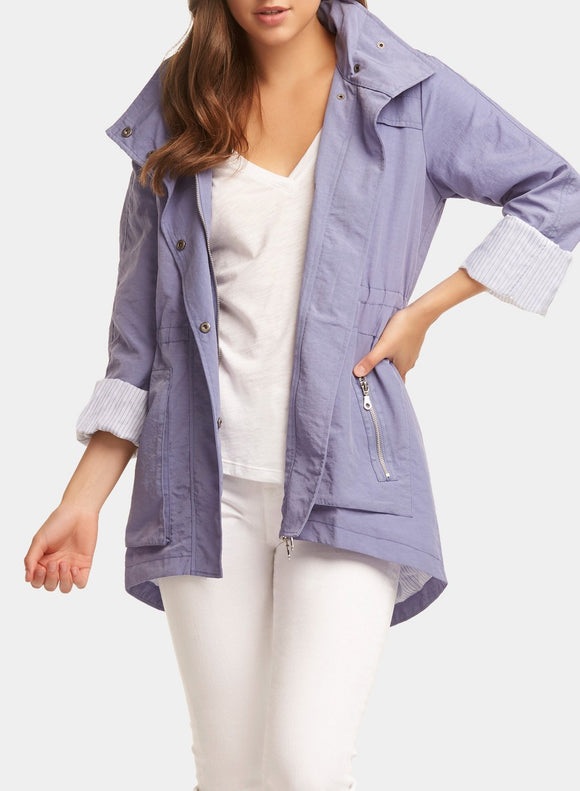 Tart Collections Cory Rain Jacket Lilac