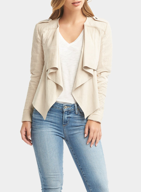 Tart Collections Lupe Faux Suede Jacket