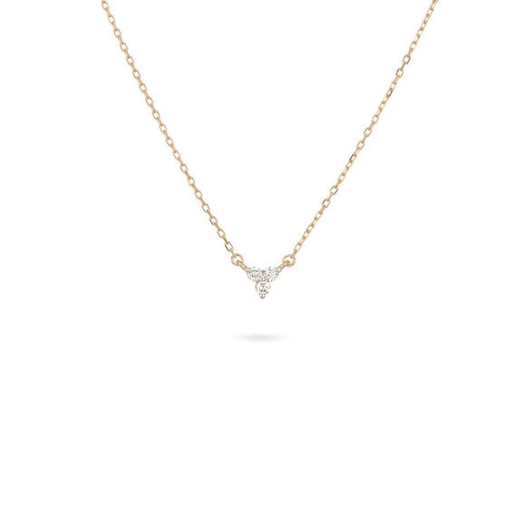 Adina Reyter 14K Gold Super Tiny Diamond Cluster Choker
