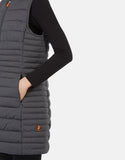 Save the Duck Women's Angy Faux Down Puffer Vest