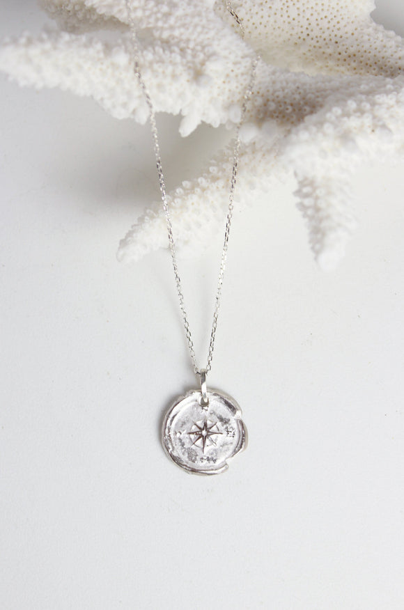 Robin Haley Compass Necklace