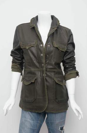 Jakett NYC Meryl Vegetable Dyed Leather Jacket