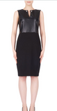 Joseph Ribkoff Faux Leather Dress