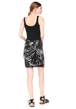 Bailey 44 City Sarong Dress Black