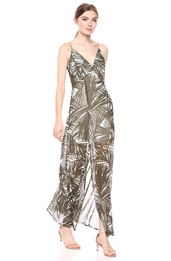 Bailey 44 Rainforest Palm Printed Maxi Dress