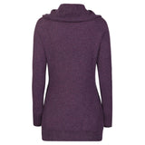 Raffi Cashmere Cowl Neck Sweater