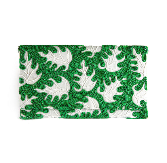 Samser Palm Leaf Clutch