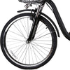 "NAKTO City Men's 26"" Camel Black Electric Bike - Voltaic Rides"