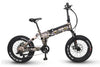 QUIETKAT 2020 VOYAGER FAT TIRE ELECTRIC FOLDING BIKE - Voltaic Rides
