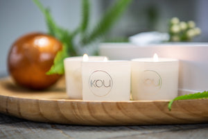 AROMATHERAPY ESSENTIALS CANDLE TRIO - iKOU