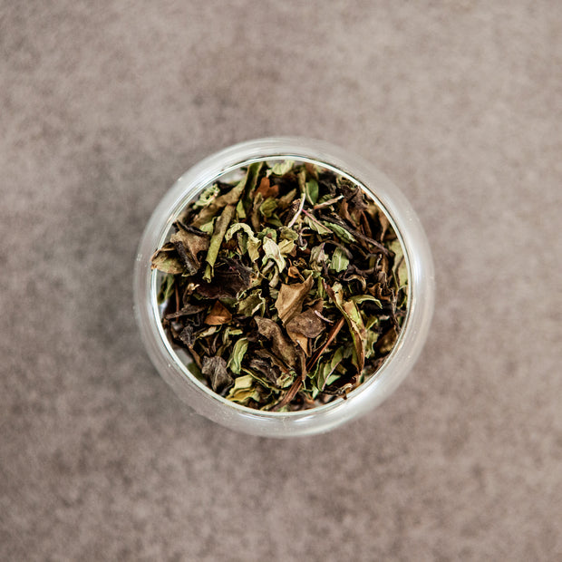 WHITE TEA & PEPPERMINT HERBAL FUSION 35g