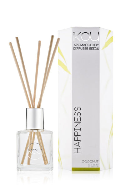 iKOU Aromacology Diffuser Reeds - Happiness