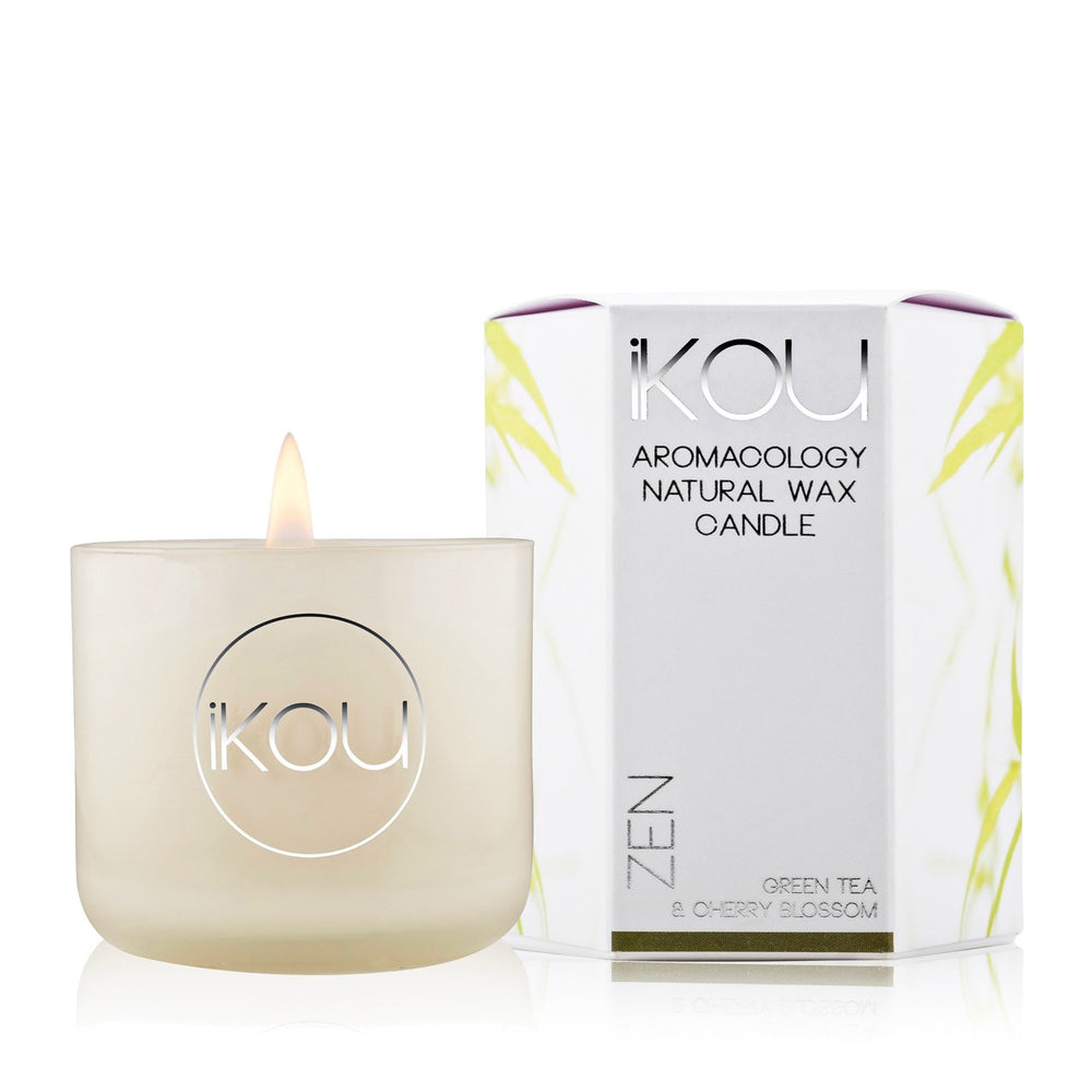 Eco-Luxury Candle Glass Zen - iKOU