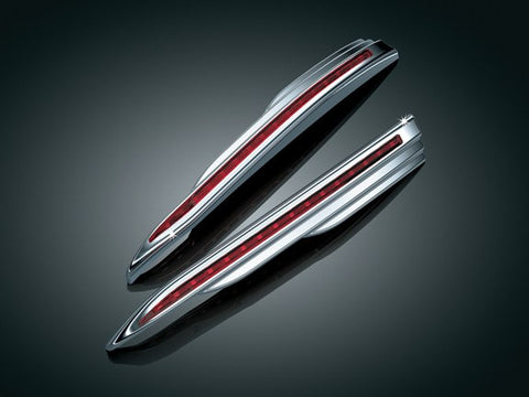 L.E.D. VERTICAL REAR RUN-BRAKE LIGHT STRIPS for GL1800   $132.99