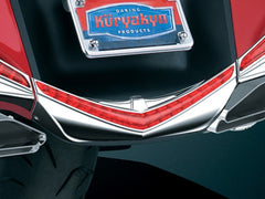 L.E.D. REAR FENDER TIP/Chrome w/Red Lenses  $129.99