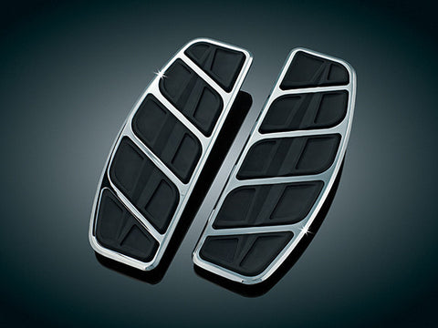 Chrome Kinetic Traditional Driver Floorboard Inserts  $152.99