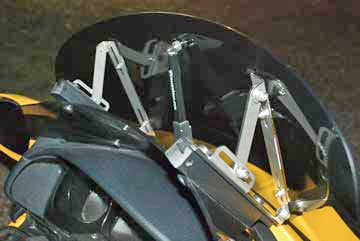 Rake Kit for Manually Adjustable shields: w/o Windbender Purchase $190.95