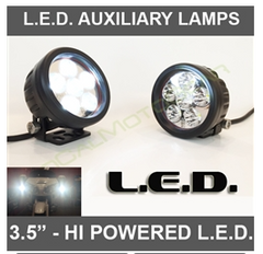 "3.5"" High Powered LED Auxiliary Lamps (1100 Series - PAIR) $119.95"
