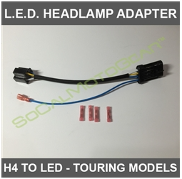H4 LED HEADLAMP WIRING HARNESS $19.95