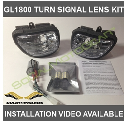 Honda GL1800/F6B TURN SIGNAL DUAL SWITCHBACK LED+FLASHER KIT $129.95
