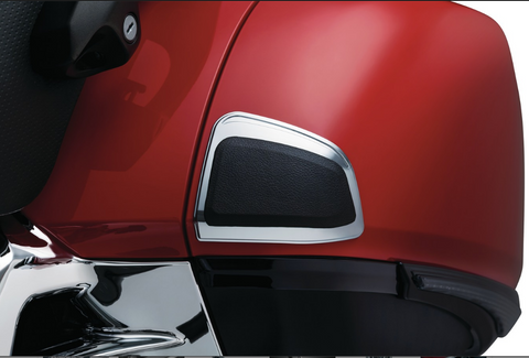 Chrome Front Saddlebag Kick Protectors  $79.99