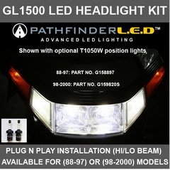 [NEW] GL1500 HI/LO Beam LED Headlight Kit   Starts at $110.00