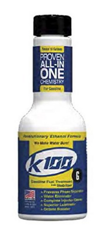 K100 Fuel Treatment and Stabilizer     $9.50